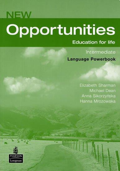 Dean Michael: New Opportunities Intermediate Language Powerbook Pack