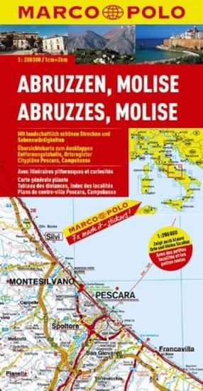 neuveden: Itálie č. 10-Abruzzen,Molise/mapa1:200T MD
