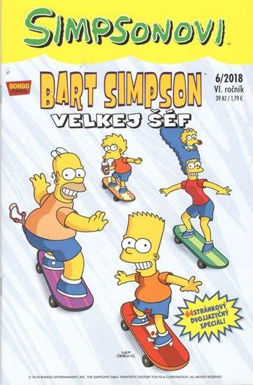 kolektiv autorů: Simpsonovi - Bart Simpson 6/2018 - Velkej šéf