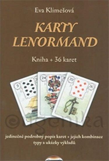 Klimešová Eva: Karty Lenormand - krabička