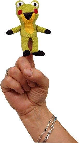 Miler Zdeněk: Žabka  8cm - prstový maňásek (Krtek a kamarádi)