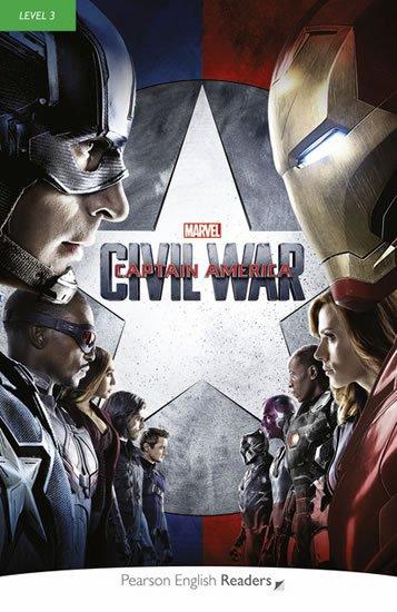 Degnan-Veness Coleen: PER   Level 3: Marvel´s Captain America: Civil War Bk/MP3 Pack