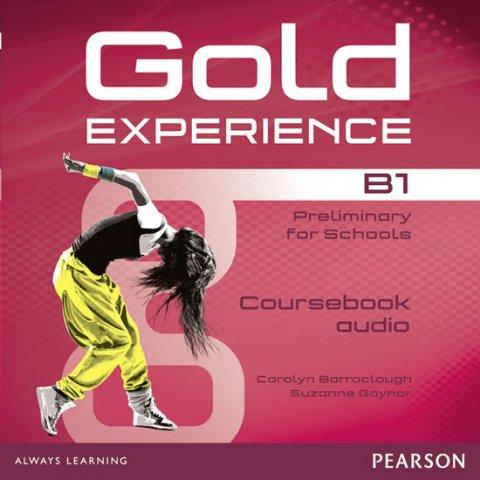 Baraclough Carolyn, Gaynor Suzanne: Gold Experience B1 Class Audio CDs