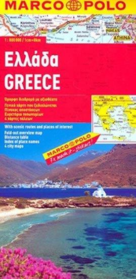 neuveden: Řecko/mapa 1:800T MD