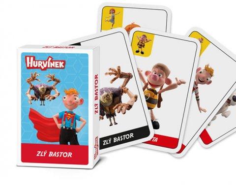 neuveden: Hurvínek - Zlý Bastor/Karetní hra a la Černý Petr