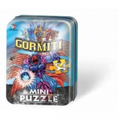 neuveden: Puzzle Mini 54 - Gormiti II. - plechová krabička