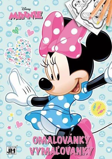 neuveden: Minnie - Omalovánky A4