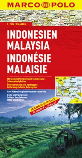 neuveden: Indonesie, Malajsie/mapa 1:2M MD