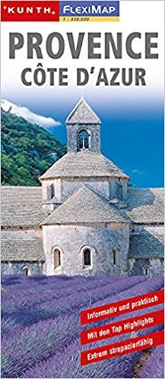 neuveden: Provence Côte d´Azur/Fleximap 1:350T KUN