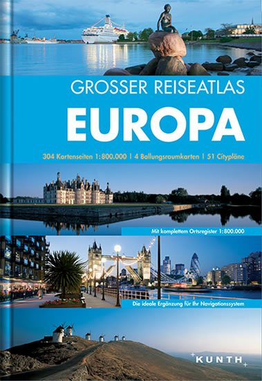neuveden: Evropa atlas VWK/ 1:800T