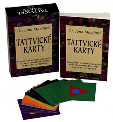 Mumford Jonn: Tattvické karty - Kompletní systém osobního rozvoje prostřednictvím magie p