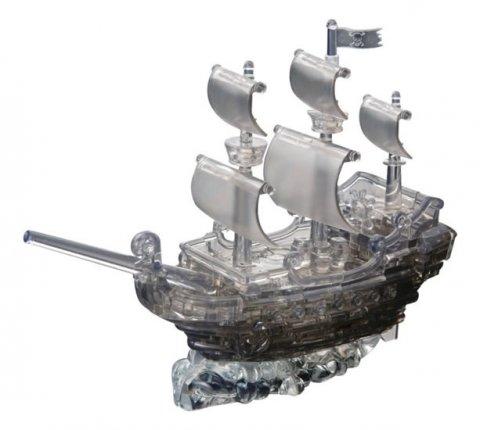 neuveden: Pirátská loď: 3D Crystal puzzle 101 dílků