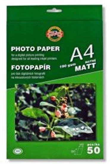 neuveden: Koh-i-noor fotopapír A4 matný 190g 50 ks