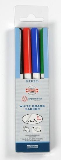 neuveden: Koh-i-noor značkovač White Board 9003 set 4ks
