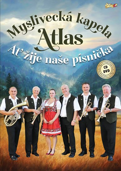 neuveden: Myslivecká kapela Atlas-Ať žije písnička - CD + DVD