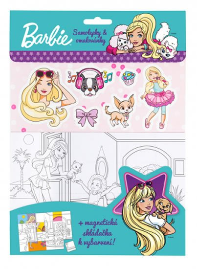 neuveden: Barbie set - zelená, magnetky