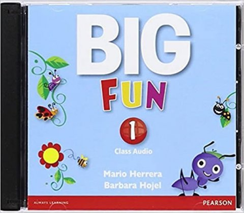 Herrera Mario, Hojel Barbara: Big Fun 1 Class Audio