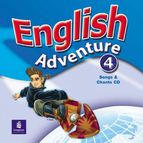 Hearn Izabella: English Adventure 4 Songs CD