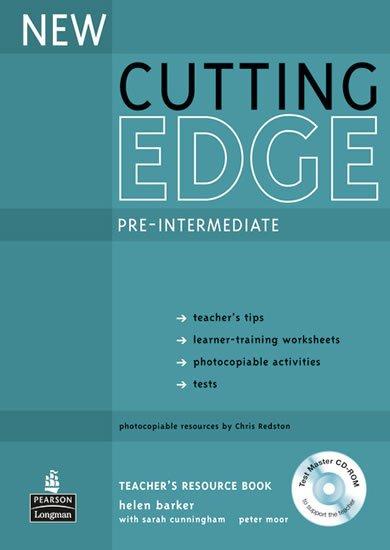 Barker Helen: New Cutting Edge Pre-Intermediate Teacher´s Book w/ Test Master CD-ROM Pack