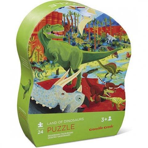 neuveden: Mini Puzzle: Dinosaurs/Dinosauři (12 dílků)