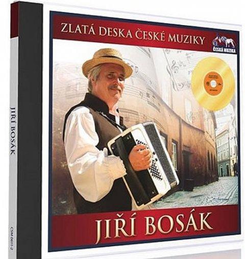 neuveden: Zlatá deska - Jiří Bosák - 1 CD
