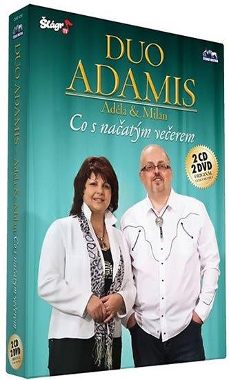 neuveden: Duo Adamis - Co s načatým večerem - 2 CD+2 DVD
