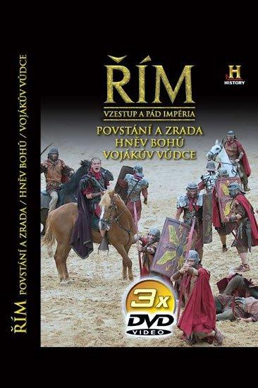 neuveden: Řím - Vzestup a pád impéria - 3. díl - 3DVD
