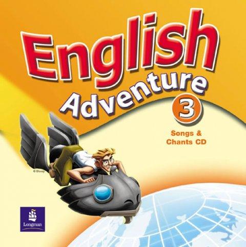 Hearn Izabella: English Adventure 3 Songs CD