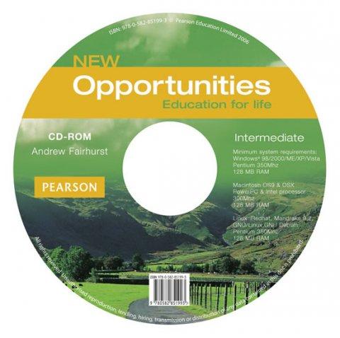 Fairhurst Andrew: New Opportunities Intermediate CD-ROM