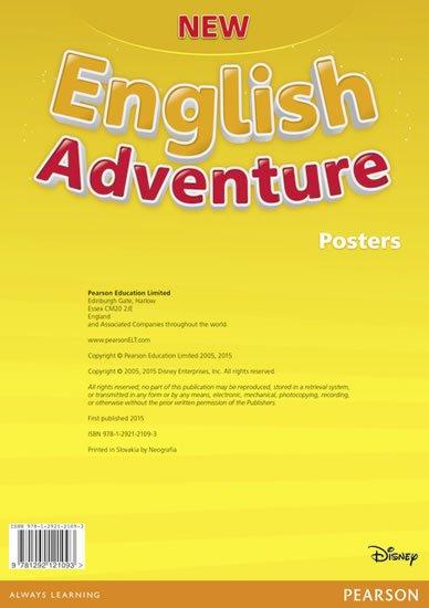 neuveden: New English Adventure Starter B Posters