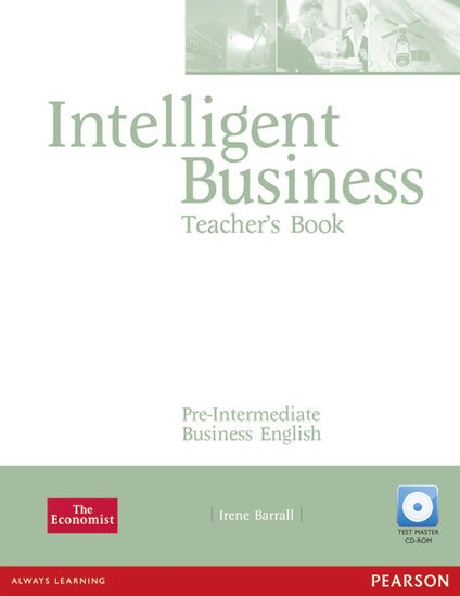 Barrall Irene: Intelligent Business Pre-Intermediate Teacher´s Book w/ Test Master CD-ROM