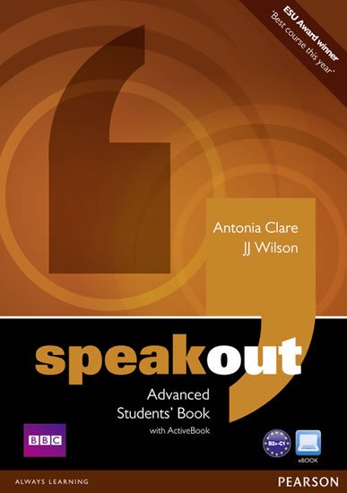 Wilson J. J.: Speakout Advanced Students´ Book w/ DVD/Active Book Multi-Rom Pack