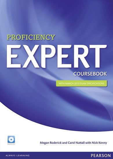 Roderick Megan: Expert Proficiency Coursebook w/ CD Pack