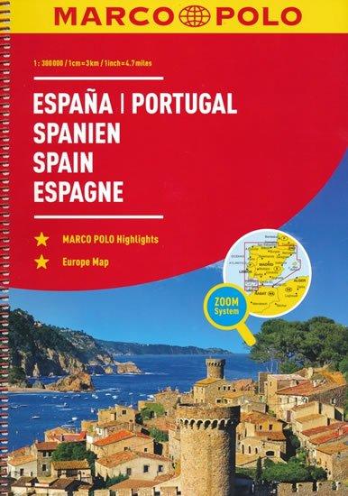 neuveden: Španělsko/Portugalsko / atlas-spirála 1:300T MD