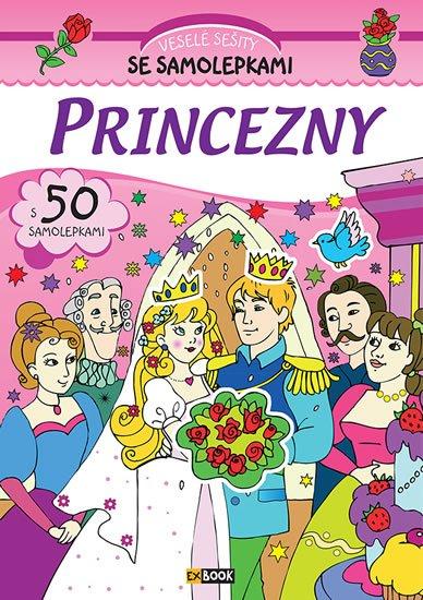 neuveden: Princezny - Veselé sešity se samolepkami