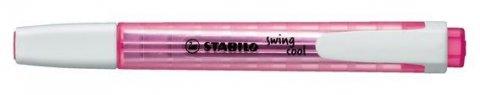 neuveden: Zvýrazňovač STABILO swing cool růžový