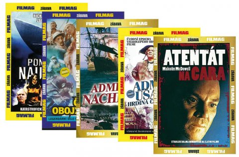 neuveden: Kolekce historicko-zábavných filmů 5DVD