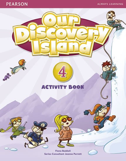 Beddall Fiona: Our Discovery Island 4 Activity Book w/ CD-ROM Pack