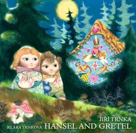 Trnka Jiří, Trnková Klára,: Hansel and Gretel / Perníková chaloupka - anglicky (prostorové leporeolo s
