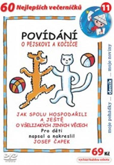 Čapek Josef: Povídání o pejskovi a kočičce - DVD