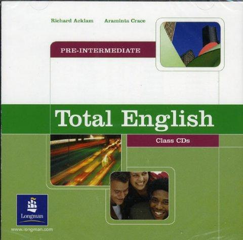 Acklam Richard: Total English Pre-intermediate Class CDs