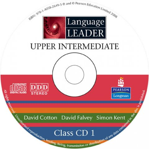 Cotton David: Language Leader Upper Intermediate Class CDs