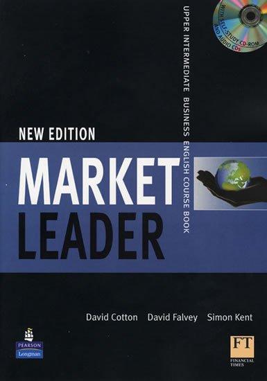 Cotton David: Market Leader Upper Intermediate Coursebook w/ Class CD/Multi-Rom Pack