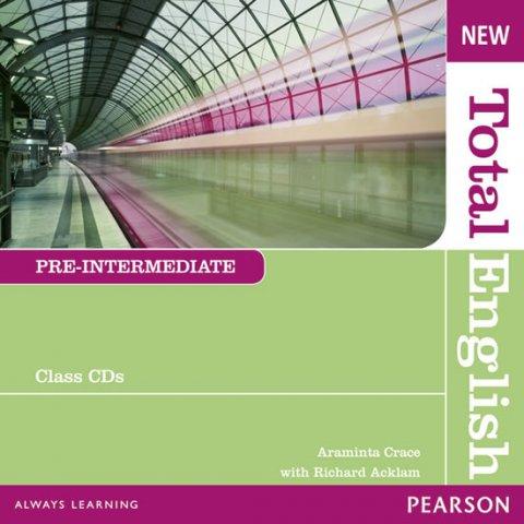 Crace Araminta: New Total English Pre-Intermediate Class Audio CD