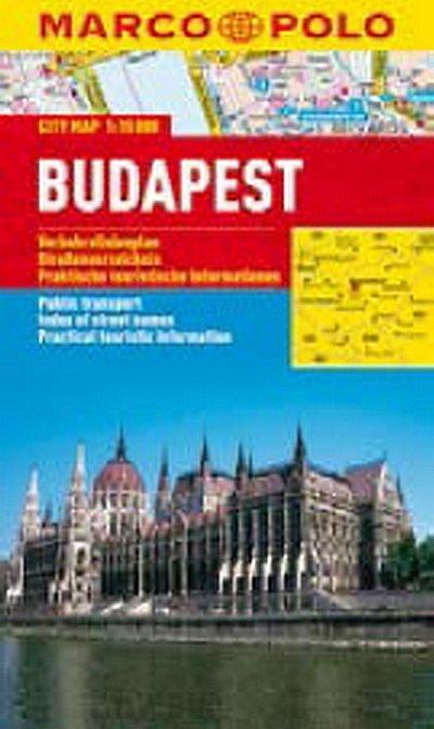 neuveden: Budapest - City Map 1:15000