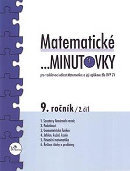 Hricz Miroslav: Matematické minutovky pro 9. ročník / 2. díl