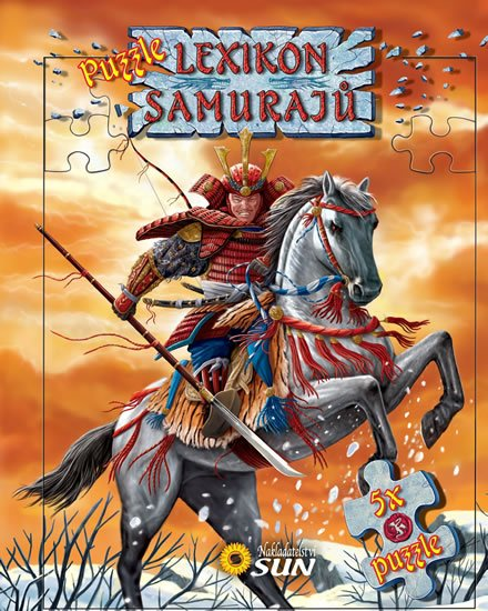 neuveden: Lexikon samurajů - 5x puzzle