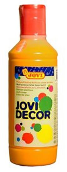 neuveden: JOVI Decor akrylová barva - oranžová 250 ml