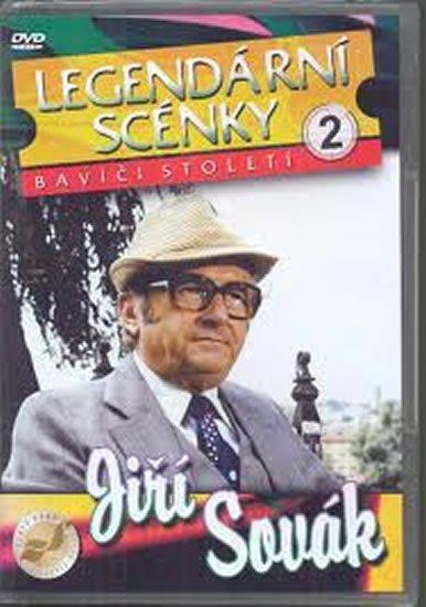 neuveden: Legendární scénky 2 - Jiří Sovák - DVD