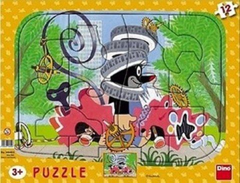 neuveden: Krtek opravář: puzzle deskové 12 dílků